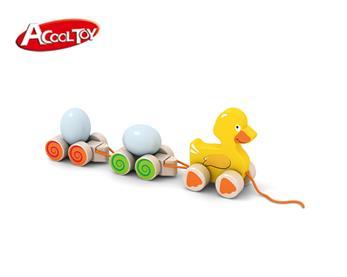 木制拖拉鸭子(货号:AC6661)