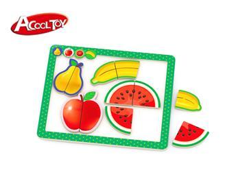 水果磁性拼板 (货号:AC6673)