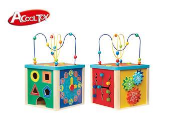 木制百宝箱玩具 (货号:7603)